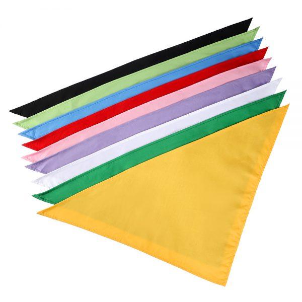 Plain color bandana