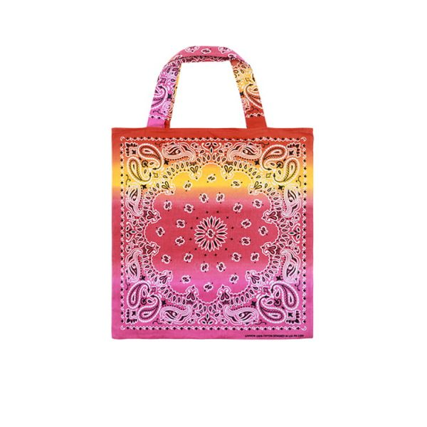Bandana Paisley Custom Printing logo Bag Hand Made Bags cotton Tote bag