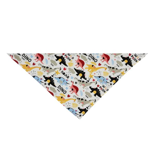Bandana for dogs scarf custom printed triangle bandana