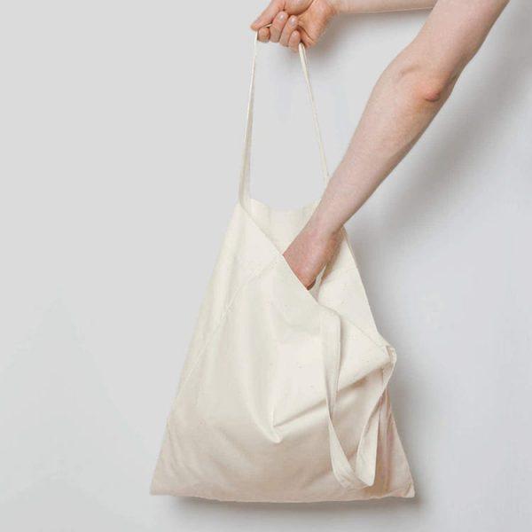 Cheap Reusable Shopping Bags Plain Blank Cotton Canvas Tote Bag