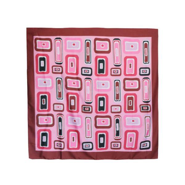 Cheap wholesale Custom Satin 22x22 Square Bandana Scarf