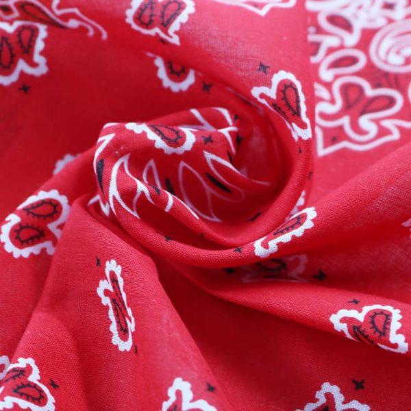 Classic Cotton Paisley Bandana Double Sided Handkerchief