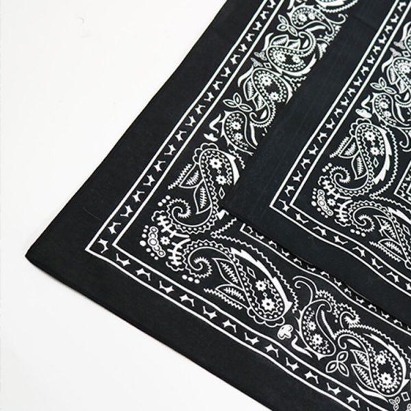 Custom Print Logo Soft 100% Organic Cotton Bandana