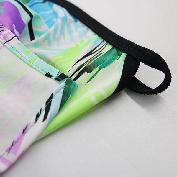 Earloop Headwear Neck Gaiters Unisex Triangle Earloop Bandanas