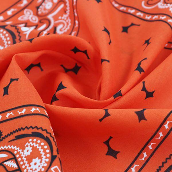 Factory supply 100% organic cotton custom printed bandana