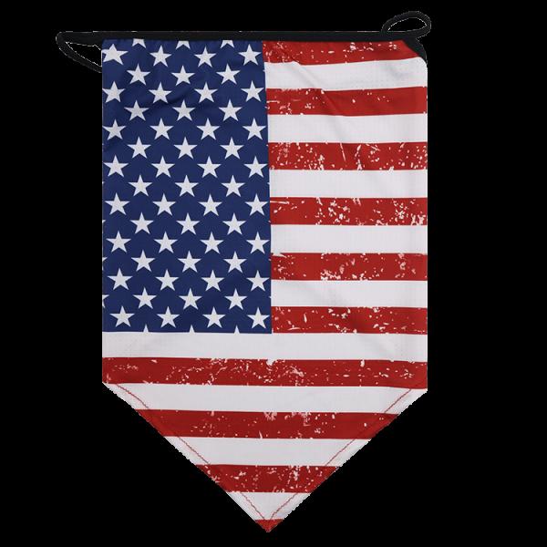 Flag bandana ear loops face balaclava neck gaiters scarf