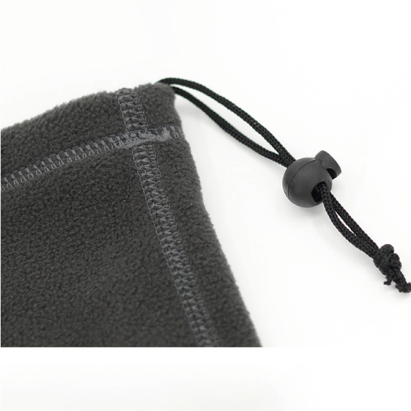 Wholesale winter warm adjustable polar fleece neck face cover gaiter