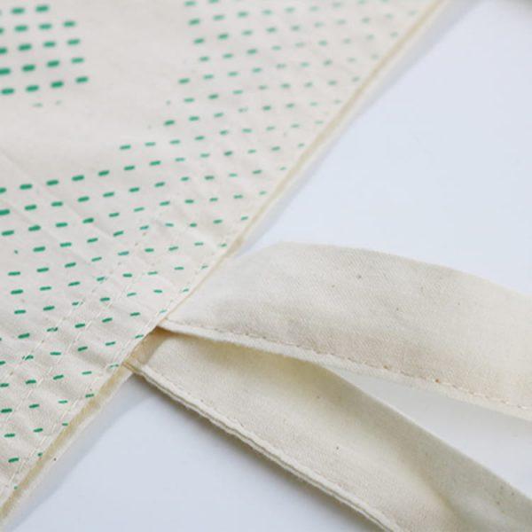Natural recycled shopping cotton bag Custom canvas tote bag
