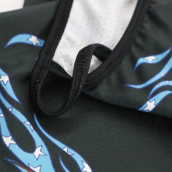 Outdoors sports triangle bandana headwear neck tube ear loop bandana