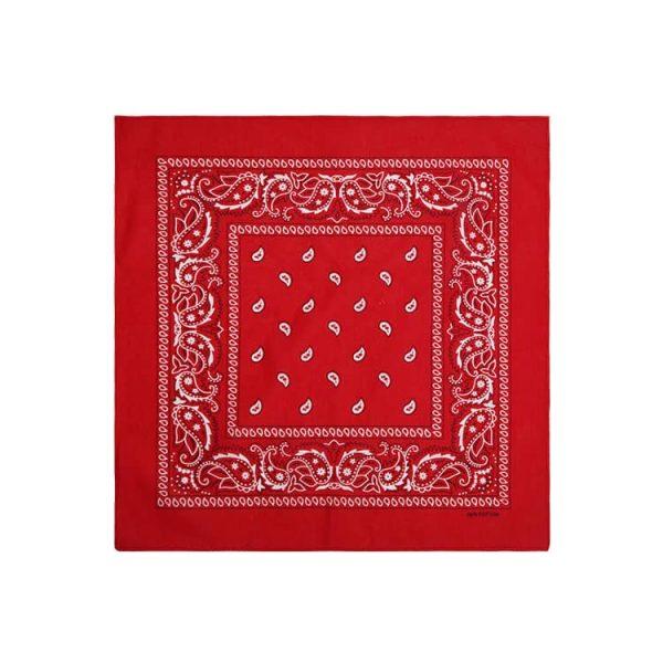 Wholesale cotton classic paisley pattern bandana