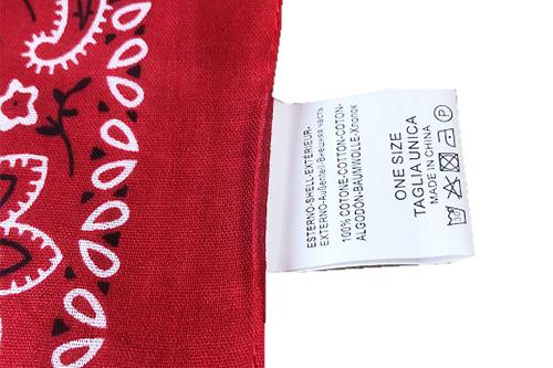 Washing-label