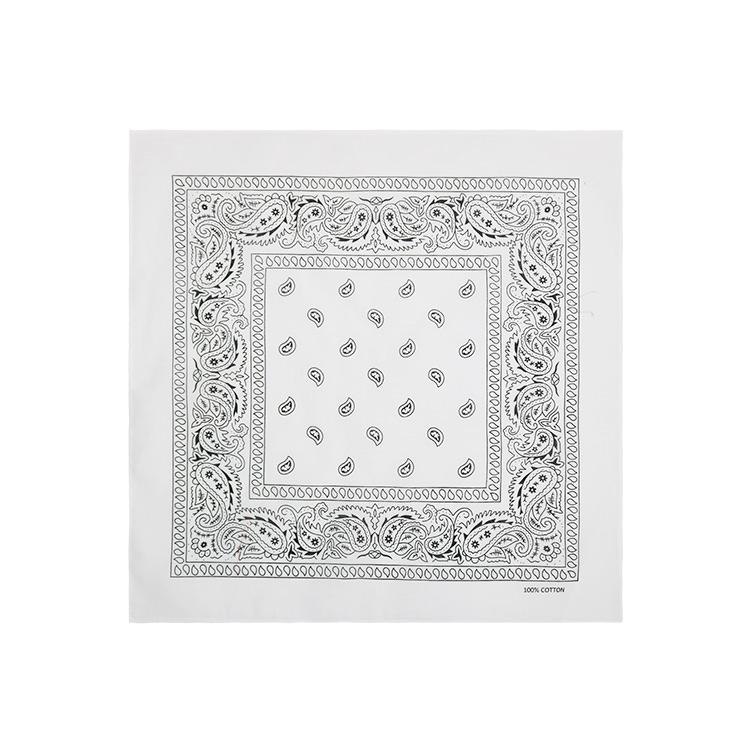 white paisley bandana