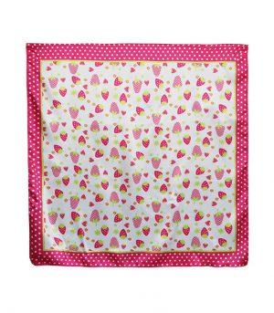 2222inch Custom Bandana Fabric Satin Bandana Scarf (4)