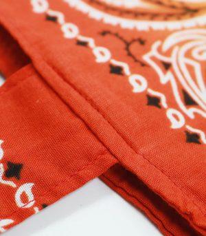 Bandana Paisley Custom Printing logo Bag Hand Made Bags cotton Tote bag (4)