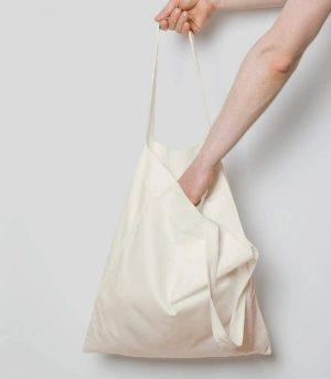 Cheap Reusable Shopping Bags Plain Blank Cotton Canvas Tote Bag (2)